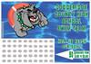 Swimming Scratch off Fundraiser Card will raise $100-$10,000.  Scratch off Card, Scratch off Fundraiser, Fundraising, School, Sports, Swim.
