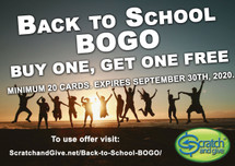 Back to School BOGO