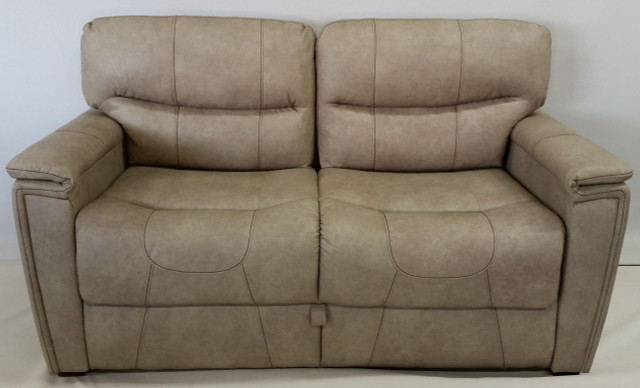 150 68 Trifold Sleeper Sofa Grambling Doeskin Rv