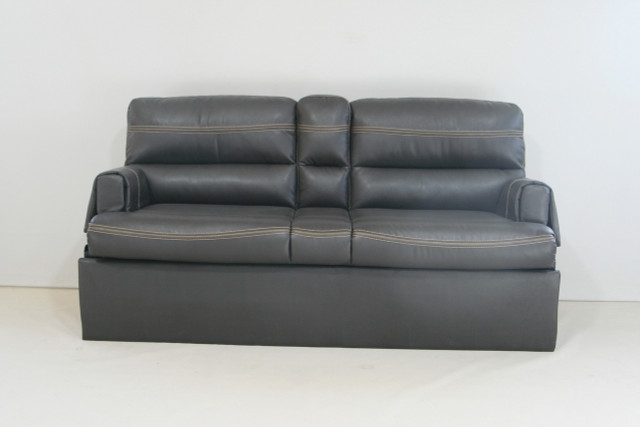 J878 66 Jackknife Sofa W Folding Console Baltimore Seal Rv