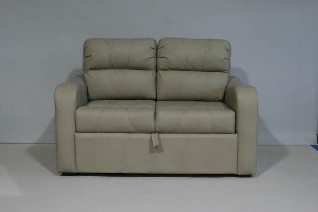 8120 55 Trifold Sofa Sleeper Gunner Khaki Rv Furniture Center
