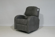 1075 Swivel Glider Recliner - Canoga Iron
