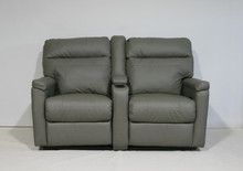 812-60 Reclining Theater Seating - Broadway Graphite