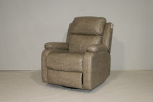 887 Swivel Glider Recliner - Houghton Doeskin