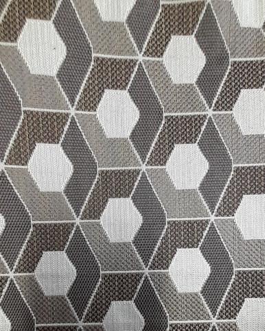 Round the Block Wicker - Pattern Cloth