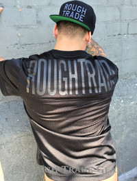 Rough Trade Slim-Fit Jersey BLACK - Rough Trade Gear