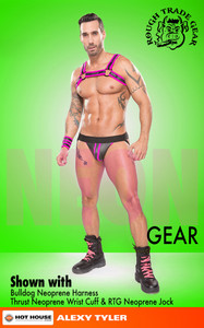 RTG NEON Neoprene Jock - Rough Trade Gear