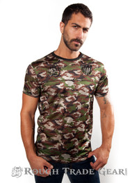 Rough Trade Slim-Fit Jersey CAMO - Rough Trade Gear