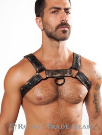 Bulldog Trek CAMO Nylon Harness - Rough Trade Gear