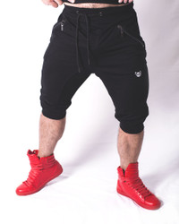 Sporty Play Short BLACK - Bully Wear