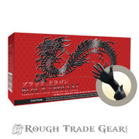 Powder-free Latex Gloves - Black Dragon