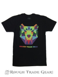 Kaleidoscope Bear T-shirt - Rough Trade Gear