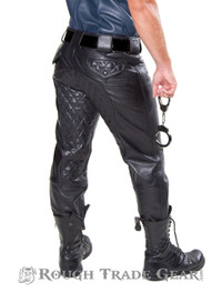 Uniform Quilted Leather Pants - Rough Trade Gear
