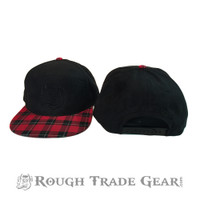 Micro-Suede Snapback Cap - Rough Trade Gear