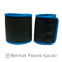 POWER BLUE Plowed Hybrid Snap Neoprene Wrist Cuff