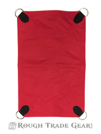 Sling Reversible Twill Seat RED/BLACK - Rough Trade Gear