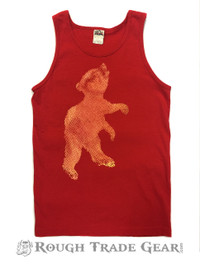 Cub Tank RED with Yellow - Rough Trade Gear