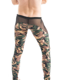 Camo Sheer Runner - N2N Bodywear