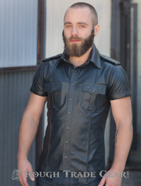 Uniform Quilted - Leather Shirt