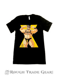 Leather Bear (yellow) T-Shirt - Bobo Bear