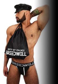 Rucksack (black/white)- Breedwell