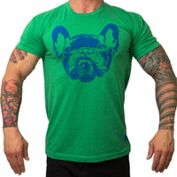 Bully Logo Green T-Shirt - Bullywear