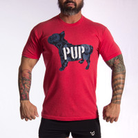 Pup Crew RED T-Shirt - Bullywear