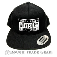 Rough Trade Advisory Snapback Cap - Rough Trade Gear