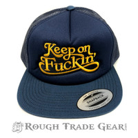 Keep On Fucking Mesh Snapback Cap - Lockwood51
