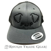 Pup Ears Mesh Snapback Cap (Gray/Black) - Rough Trade Gear