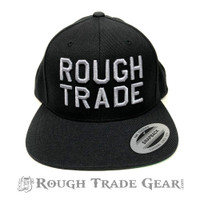Rough Trade Snapback Cap (Black/Gray) - Rough Trade Gear