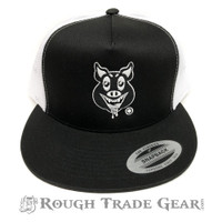 Hungry Pig Mesh Snapback Cap - Victor H
