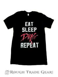 Eat Sleep Drag Repeat T-shirt - Huntees