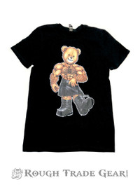 Leather Kilt Eddi Bear T-Shirt - Bearded Shirts