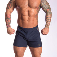 Universal Gym Short Navy - Bully Wear