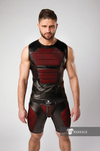 Armored Fetish Tank RED - Maskulo