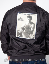 Man-To-Man Construction Windbreaker - RTG