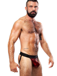 XXXplicit Red Glitter Jockstrap - Rough Trade Gear
