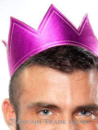 Leather Crown COTTON CANDY (Pink Bubble) - RTG