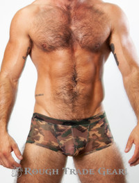XXXplicit Mesh Contouring Trunk (CAMO) - Rough Trade Gear