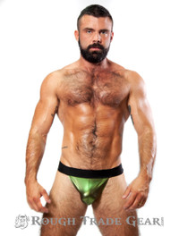 XXXplicit Metallic Fetish Sock (Green) - RTG