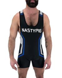 Code Singlet BLACK - Nasty Pig