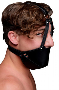 Mouth Harness with Ball Gag - Strict