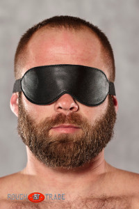 Dark Side Leather Blindfold - Rough Trade Gear