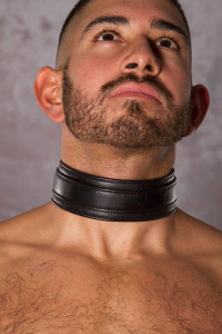 Slave Leather Collar - Rough Trade  Gear