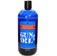Gun Oil H2O Water-based Lube 32 oz