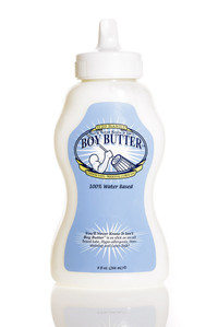Boy Butter - H2O Water-based Squeeze Tube 9 oz