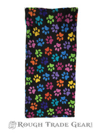 Puppy Hanky (multi color paws)