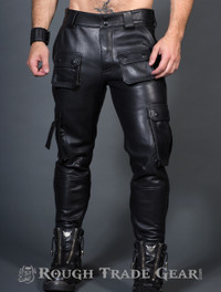 RTG Leather Cargo Pants