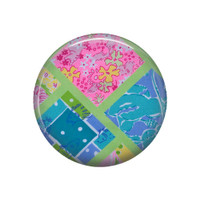 Ocean Patch Pocket Mirror